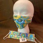 #10 Multicolor pattern Face Masks $5.00 each