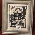 #105 Black Silhouette by Nancy Michael $10.00