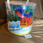 #114  New Wilton Cookie Cutters 101 different ones.  $5.00