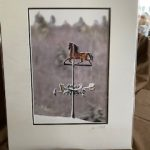 #123 SOLD  John Gill's Photography  The Weathervane   $35.00
