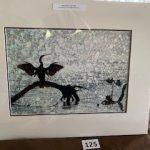 #125 SOLD  John Gill Photography Anhinga Prayer $35.00