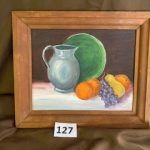 #127 Evelyn Millar Painting $10.00
