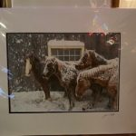 #135 SOLD John Gill Photography Facing The Snow $35.00