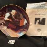 #152  Norman Rockwell Grandpa's Gift  $10.00