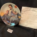 #162 Norman Rockwell  The County Fair   $10.00