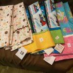 #18 Pillowcases Each one $8.00 or pair $15.00 1-2-3-4-5-6