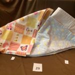 "#29 Flannel baby blankets 34""x40"" 1-2 $5.00 each"