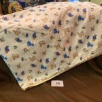 "#30 Flannel Baby Blanket 40""x50"" $8.00"