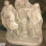 #37 $150.   John Rodgers Statue  Shakespeare group Patented June 1, 1880