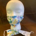 #5 Owl Pattern Face masks $5.00 each 1-2