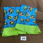 #64 Ninja Turtle pillowcases $8.00 each or pair for $15.00