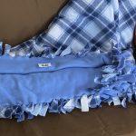 #66 SOLD Tie Blanket $12.00