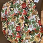 #75 Set of 4 quilted Christmas placemats $10.00