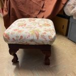 #86  Upholstered Foot Stool $8.00