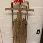 #94 Antique Wooden Sled over 70 years old $40.00