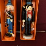 #96 SOLD Halloween Themed Nutcrackers both for $10.00